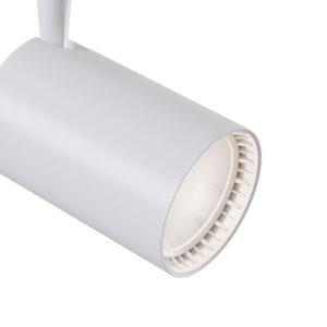 1-faset spotlight Track LED 4000K hvid 1.200lm,17W
