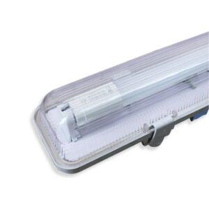 120cm 20W IP65 LED T8 Lysstofrørs armatur - 4000K