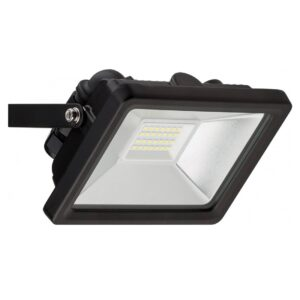 20W LED Projektør, 1650lm, 6500K, Sort (59002)