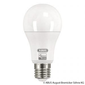 ABUS Z-Wave E27 9 W LED-pære, varmhvid