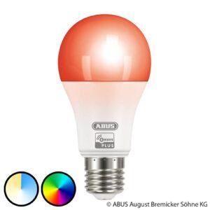 ABUS Z-Wave E27 9,5 W LED-pære, RGBW