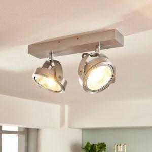 Aluminiumsspot Lieven med to lyskilder og G9-LED