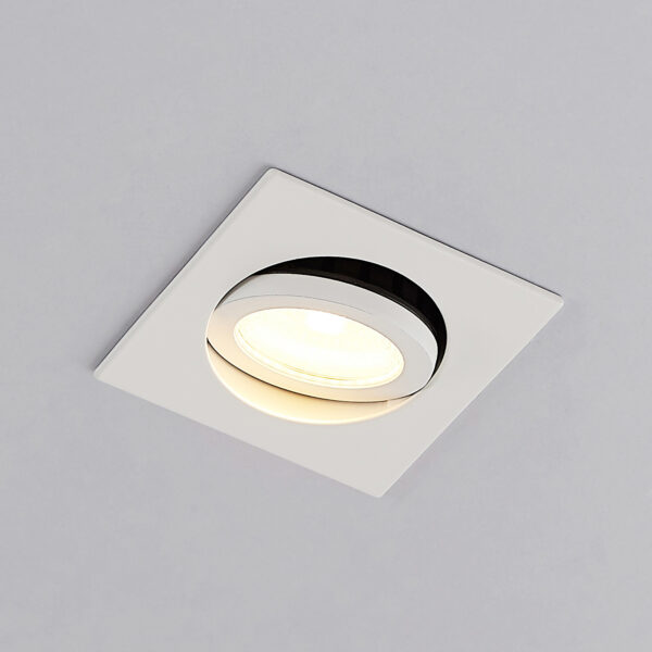Arcchio Dacio LED-downlight, kantet 36° IP65 4W
