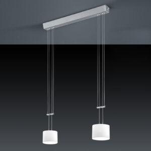 BANKAMP Grazia LED-hængelampe, ZigBee, 2 lyskilder