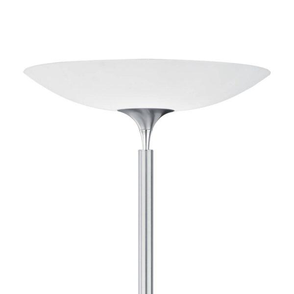 BANKAMP Opera LED-uplight, touchdæmper, nikkel
