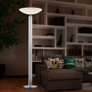 BANKAMP Pure F LED-uplight lampe, nikkel