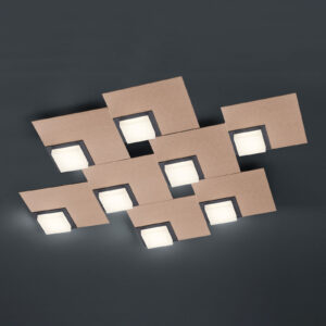 BANKAMP Quadro LED-loftlampe, 64 W, roségold
