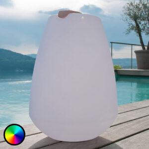Bærbar LED-dekorationslampe Vessel