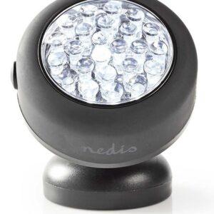 Batteridrevet LED Lampe med magnet