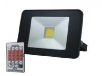 Blue Electric SlimLine Sensor LED projektør, 50W - 1880819