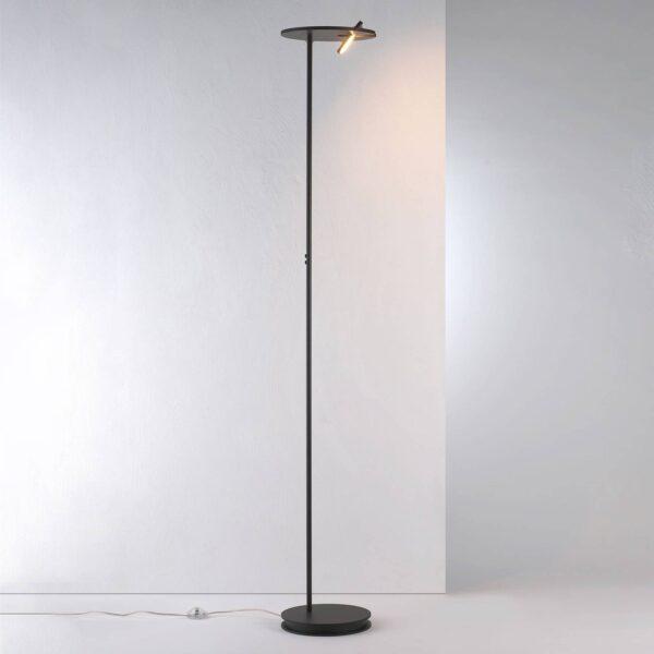 Bopp Share LED-uplight lampe med læselampe, sort