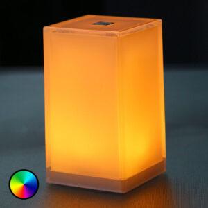 Bordlampe Cub i pakke med 6, app-styrbar, RGBW
