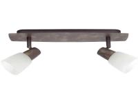 Brilliant Milos 17829/56 Loft-spotlights LED (RGB) E14 80 W Kobber, Alabaster