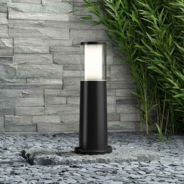 Carlo LED-sokkellampe, sort 3,5 W CCT højde 40 cm
