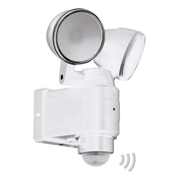 Casabas udendørs LED-spot, batteri, 2 lysk., hvid