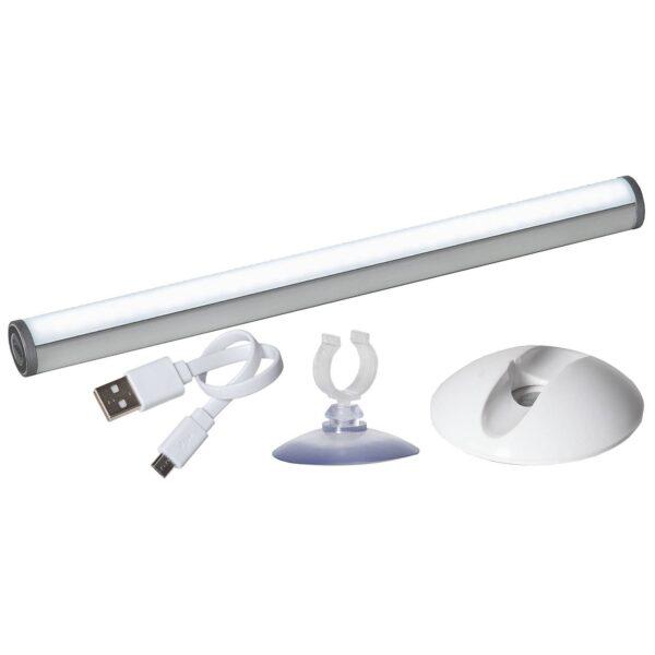 Daylight LED-panel, batteridrevet, berøringsdæmper