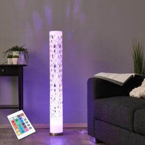 Dekorativ RGB-LED-gulvlampe Alisea