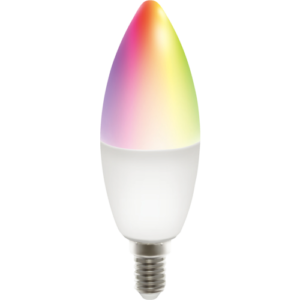 Deltaco Candle smart RGB LED-elpære DEL4350011