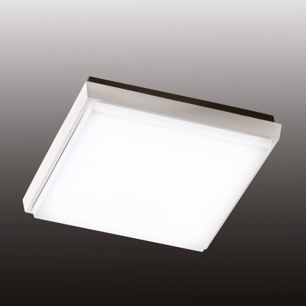 Desdy kvadratisk LED udendørs loftlampe