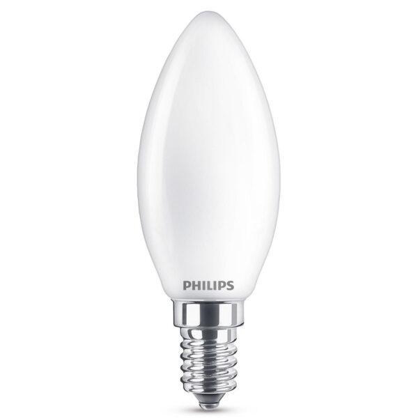E14 2,2W 827 LED kertepære, mat