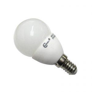 E14 3W LED-pære Tema, dråbeformet