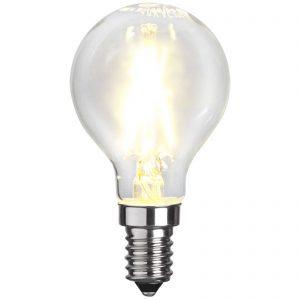 E14 P45 LED-dråbepære 2W 2.700K, filament