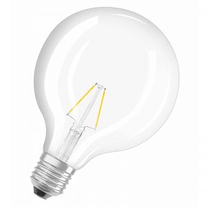 E27 2,8W 827 LED-globepære Retrofit
