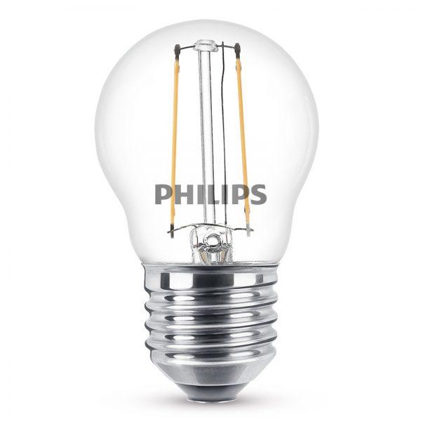 E27 2W 827 2W LED-pære