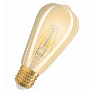 E27 4,5W 824 LED-rustikpære Vintage Edition 1906