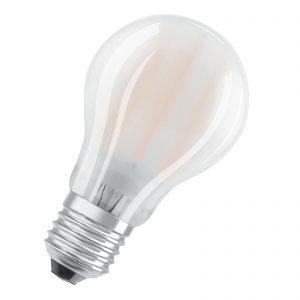E27 7W 827 LED-pære 2'er sæt, mat