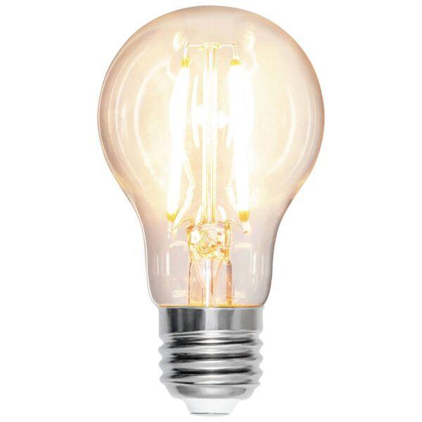 E27 A60 LED-pære 7W 2.700K filament 810 lumen