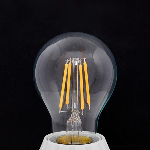 E27 LED-pære filament 4W, 470Lm, 2.700K, klar