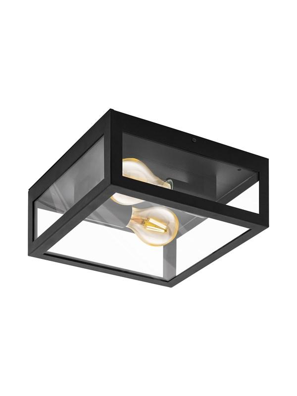 EGLO ALAMONTE 1 udendørs loftlampe, sort