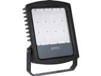 EIFEL LED projektør, 160W/840, 20000 lumen, sort, asymmetrisk, IK08, IP65 STANDARD