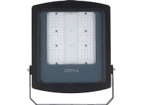 EIFEL LED projektør, 90W/840, 11250 lumen, sort, asymmetrisk, IK08, IP65 STANDARD