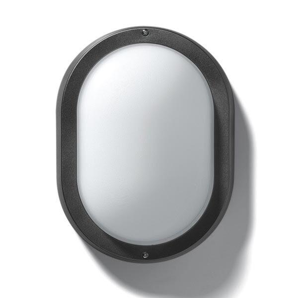 EKO 19 udendørs væg- eller loftlampe i hvid
