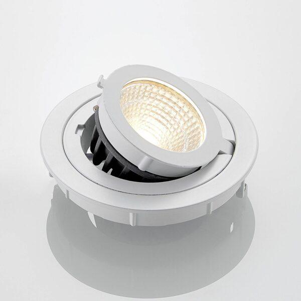 ELC Kronos LED-downlight, justerbar Ø 11,8 cm