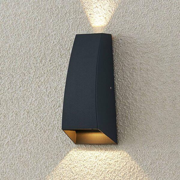 ELC Meranus udendørs LED-væglampe