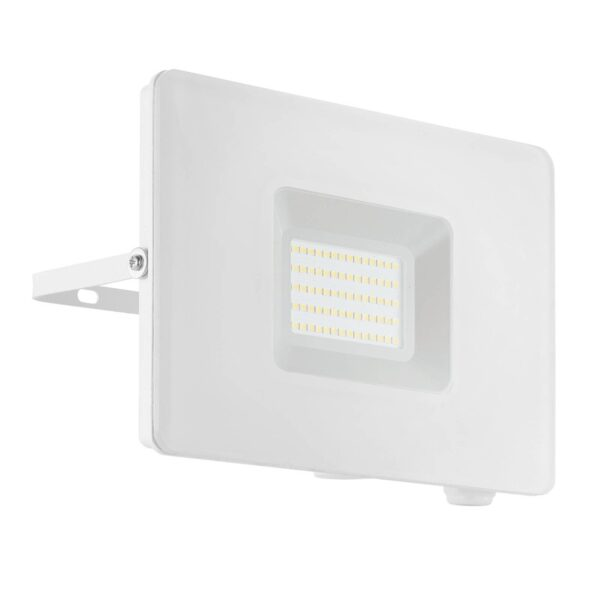 Faedo 3 udendørs LED-spot, hvid, 50 W