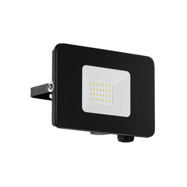 Faedo 3 udendørs LED-spot, sort, 20 W