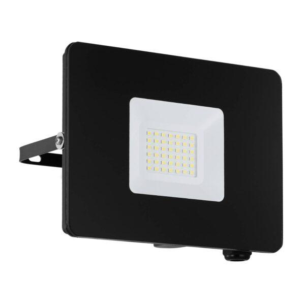 Faedo 3 udendørs LED-spot, sort, 30 W