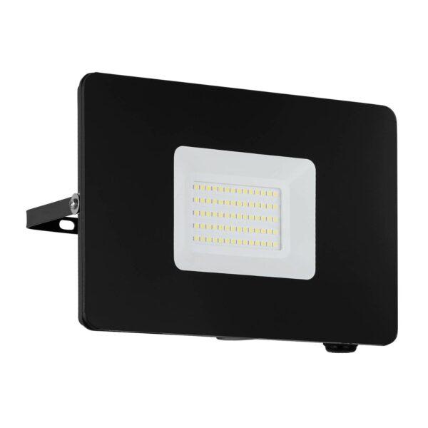 Faedo 3 udendørs LED-spot, sort, 50 W