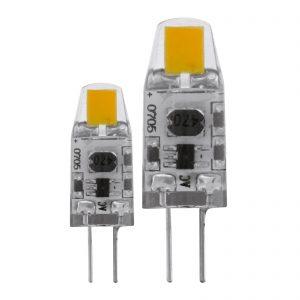 G4 LED-lampe på 1,8 W, varmhvid i pakning med 2