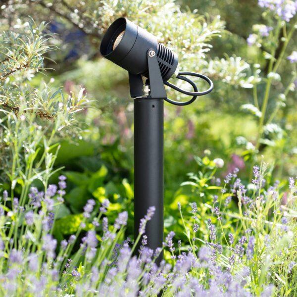 Garden 24 Spotlight LED-spot med jordspyd, 6 Watt
