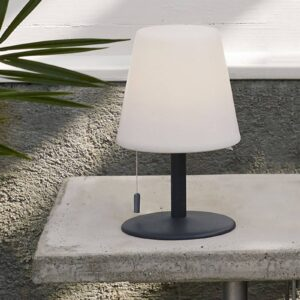 Gardenlight Kreta LED-bordlampe m. batteri 26,5 cm