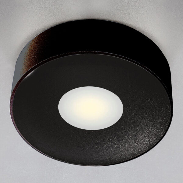 Girona udendørs LED-loftlampe, antracit