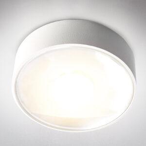 Girona udendørs LED-loftlampe, hvid