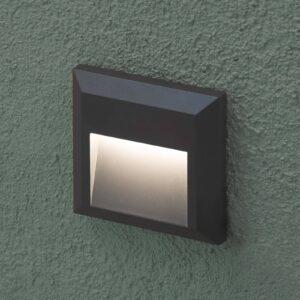 Grant - firkantet udendørs LED-væglampe