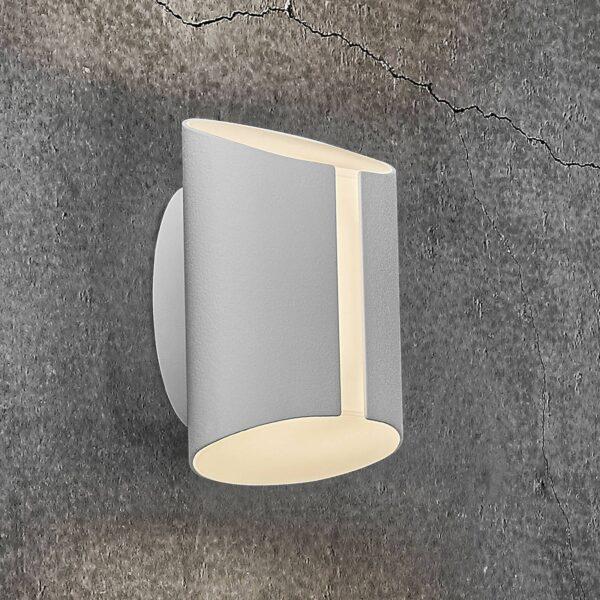 Grip udendørs LED-væglampe, CCT Smart Home, hvid