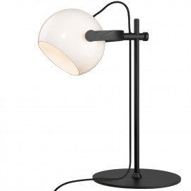 Halo Design D.C Bordlampe Ø18 E27, Opalic m, eg-sort